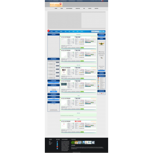 GoldCoders Hyip Lister Template 12
