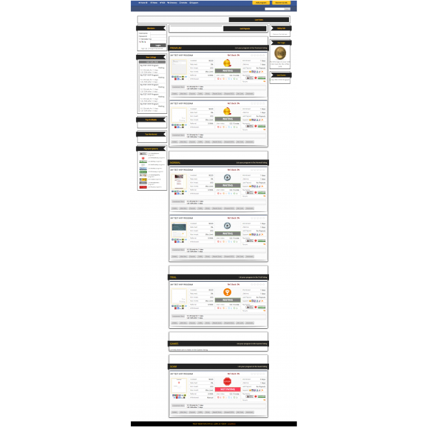 GoldCoders Hyip Lister Template 4
