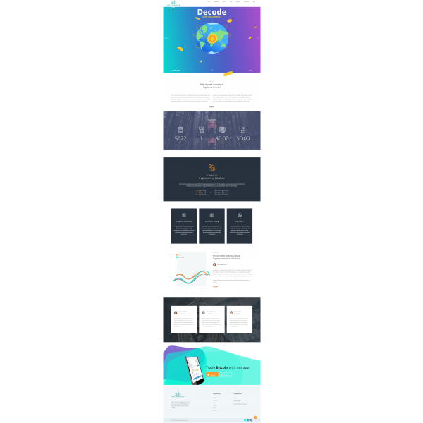 GoldCoders Hyip Template - 216