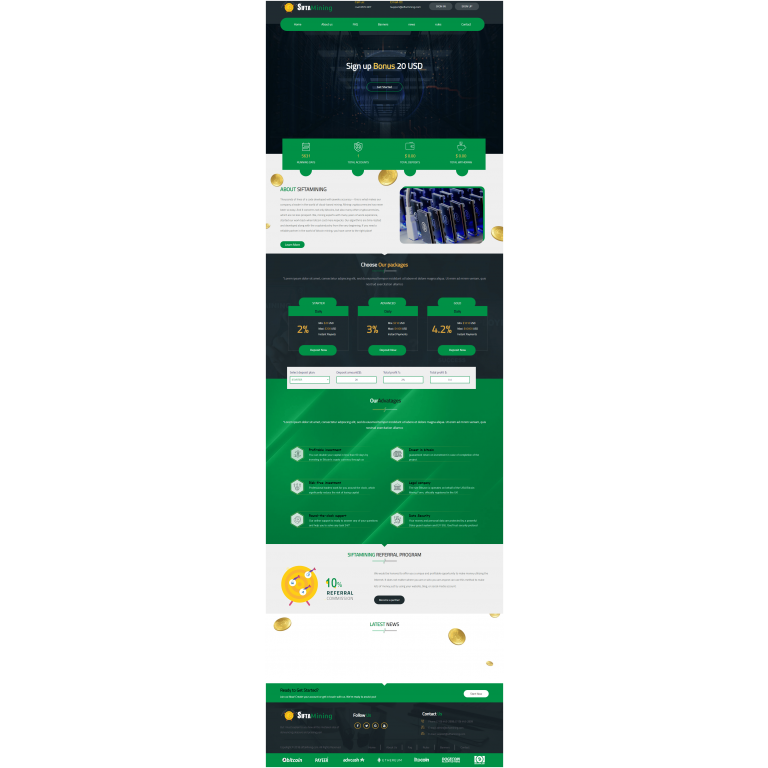 GoldCoders Hyip Template – 223