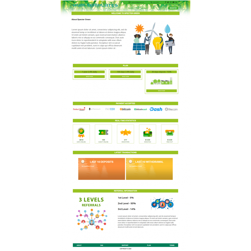 GoldCoders Hyip Template – 226