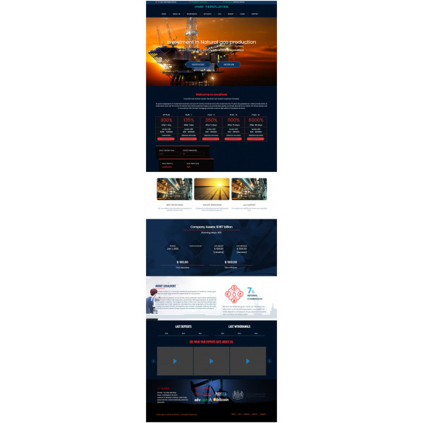 GoldCoders HYIP Template – 277