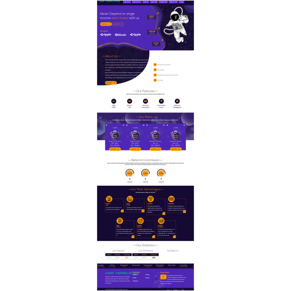 GoldCoders HYIP Template – 278