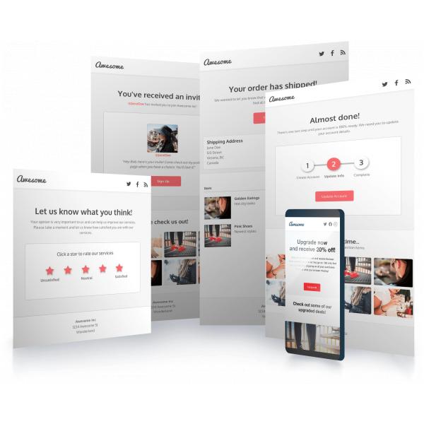 HTML template Integration