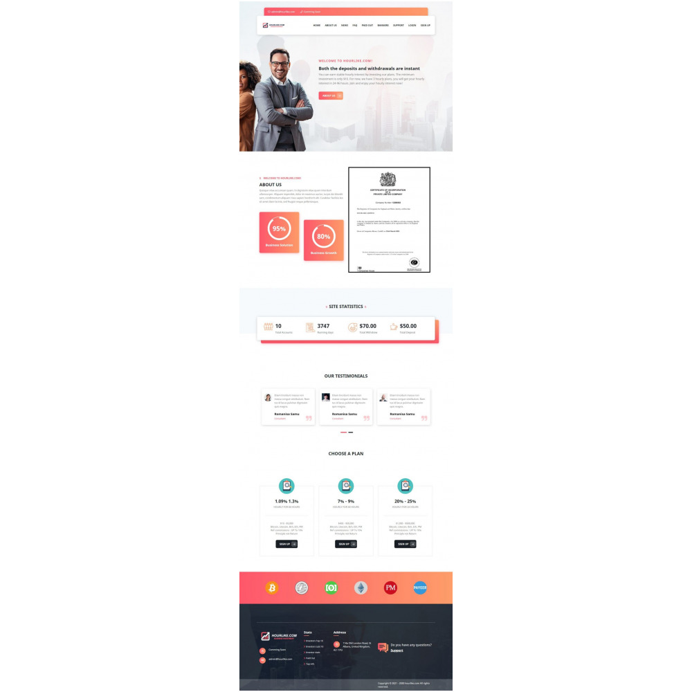 Goldcoders Hyip Template – 309