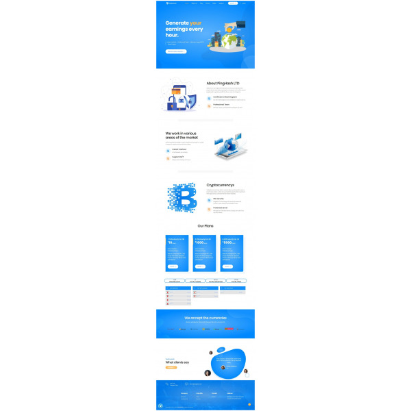 Goldcoders Hyip Template – 319