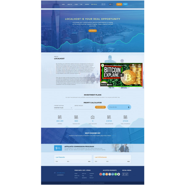 Goldcoders Hyip Template – 327