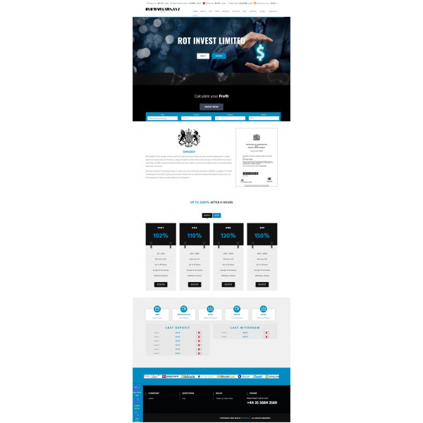 Goldcoders Hyip Template – 328