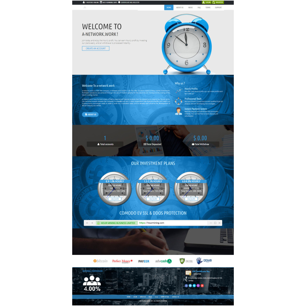 Goldcoders Hyip Template – 341