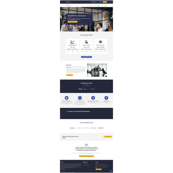 Goldcoders Hyip Template – 347