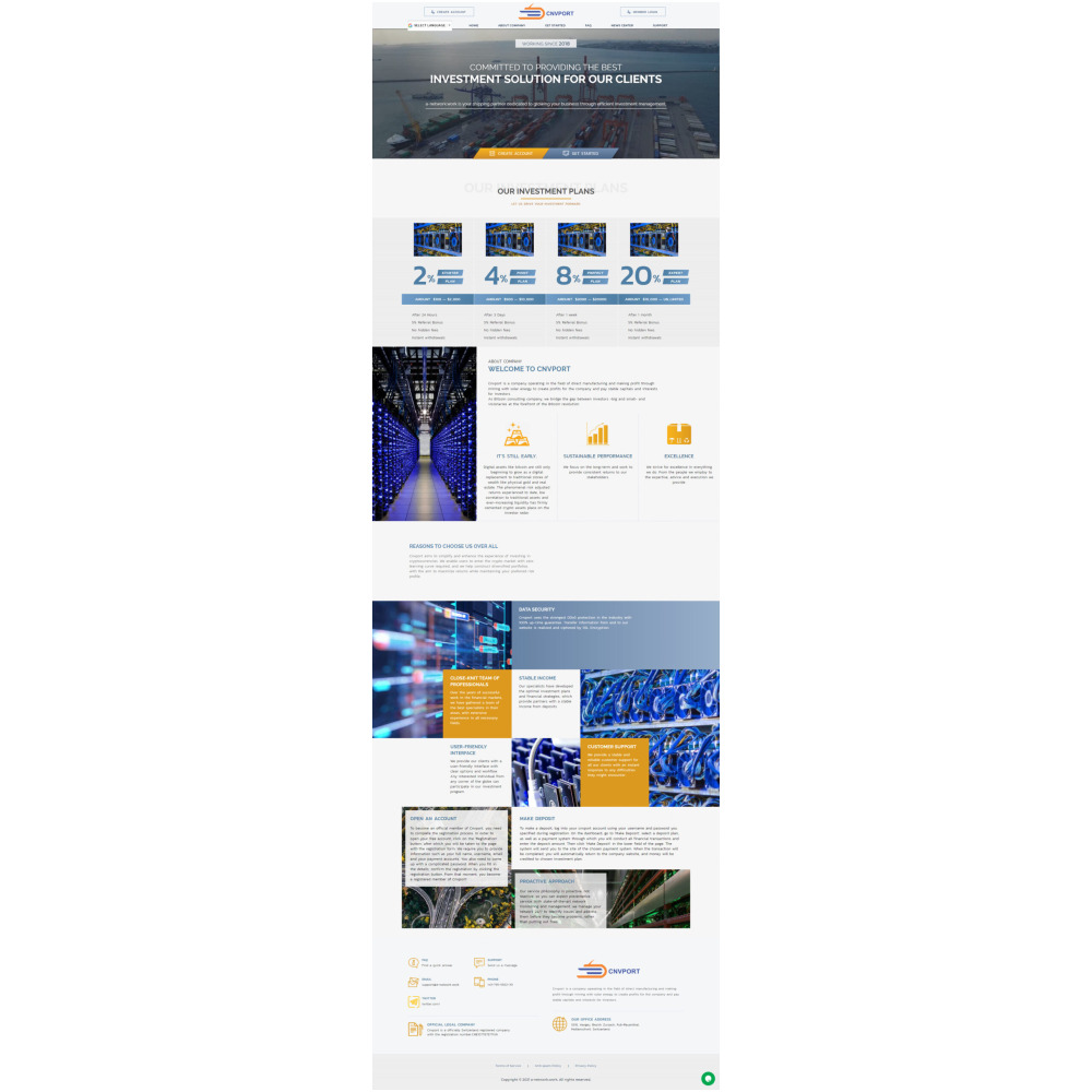 Goldcoders Hyip Template 348