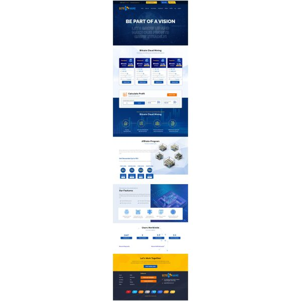 Goldcoders Hyip Template 365