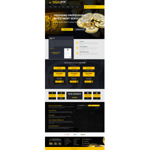 Goldcoders Hyip Template 378