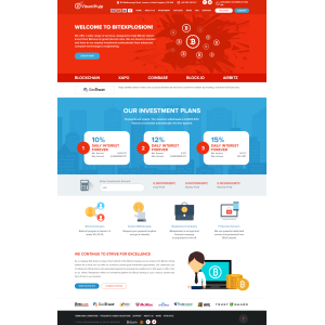 Goldcoders Hyip Template 380